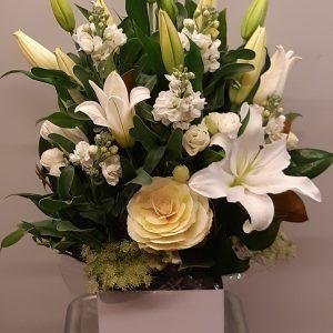 White spray of flowers - image M.D.6-300x300 on https://theflowermerchant.com.au