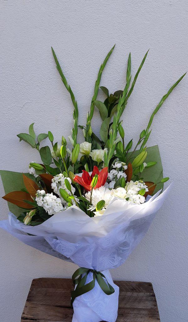White spray of flowers - image M.D.25-600x1027 on https://theflowermerchant.com.au